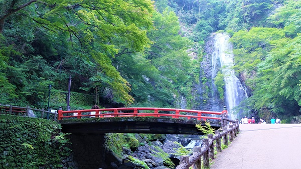 箕面公園/箕面大滝