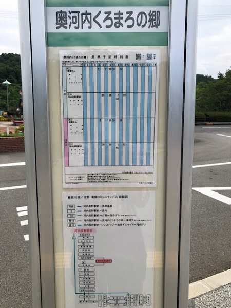 【大阪府】道の駅・奥河内くろまろの郷