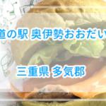 他では食べられないジビエばーがー!道の駅奥伊勢おおだい【三重県】