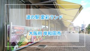 ランチビュッフェの予約方法と詳細レビュー、道の駅愛彩ランド【大阪】